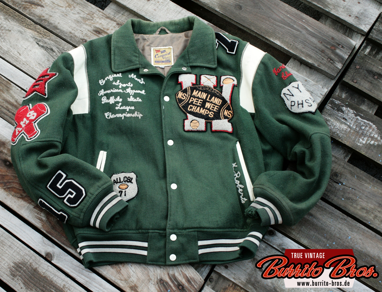 Letterman jacket by Chevignon